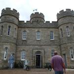 entering the castle-jail