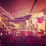 La terrasse de la pizzeria ! :)