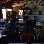 Oregon Wine Garden's elegant bar