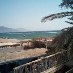 Vistas del Golfo de Aqaba desde la habitación