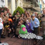 Us Ghostbusters having a great time!