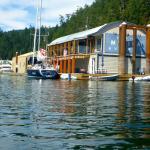 Its location within the marina