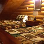 The loft of the cabin.