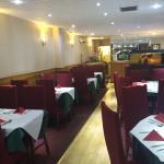 Newly refurbished restaurant