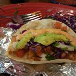 stuffed shrimp taco