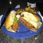 Paradise Valley Burger at Bad Boyz Bistro