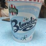Strawberry-Mango and Vanilla Ice cream Blendini!