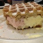 Ninas Waffles and Ice Cream Sandwich To Die For!