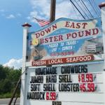 look for the Lobster Pound