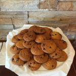 Fresh baked cookies served every night at 7:00 PM
