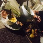 A l'écart des restaurants touristiques,  une belle adresse pour déguster du poisson de pêche sel