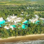 Looking at The Resort from the Helicopter