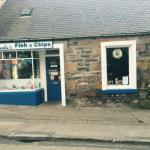 The outside of linda's fish and chips