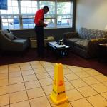 Cone in reception rea