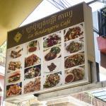 La Boulangerie-Cafe - sign with menu items