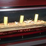 A boat similar to 1912 Titanic