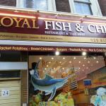 Bilde fra Royal Fish & Chips