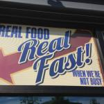 Real Food Real Fast - When We're Not Busy