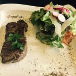 summer salad/ steak salad
