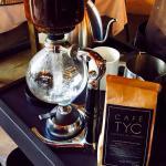 Café de sifón orgánico de Chiapas