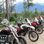 Mountains & Motorcycles at Heavens Edge