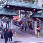 Chinatown's golden gate