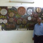 MY SELF AT COINS MUSEUM