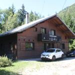 Front view of chalet (garden is at the rear)