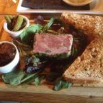 Ham Hock starter - gorgeous....