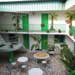 The interior patio / atrium