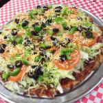 Infamous Taco Delight Pizza