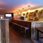 Newly refurbished bar