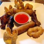 Menu and pupu platter