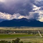 Collegiate Peaks Scenic Overlook Foto