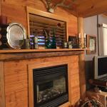 Fireplace in John Muir Jr Suite