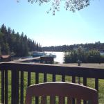 View from the outdoor deck