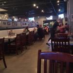 the resturant from the inside
