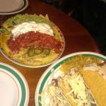 nachos e tacos