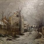 Ion Andreescu: Winter at Barbizon