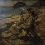 Gheorghe Petrașcu: Woman by the Sea
