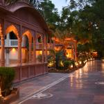 Good art and ambiance at Chokhi Dhani 5 Star Hotels at Jaipur, India