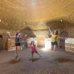 a photo from inside one of the beehive kilns