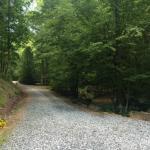 Driveway to Inn