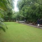 Sitout & lawn