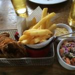 Better than average food but still a PUB. So don't expect table service.