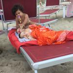 Tenerezze in spiaggia
