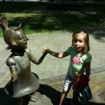 Dr Suess bronze statues - larger than life