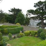 Blick in Garten und Nachbarschaft