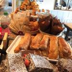 Amazing selection of cakes and pastries