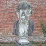 Statue in the walled garden